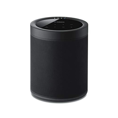 Yamaha MusicCast 20 Diffusore Bluetooth - Speaker wireless multi-room per l'ascolto di musica in streaming - WiFi dual band integrato, Bluetooth 4.2, design moderno, colore nero