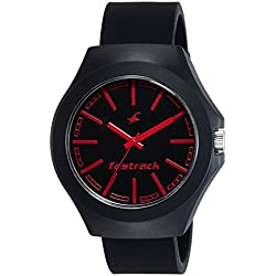 Fastrack Analog Black Dial Unisex Watch-NG38004PP06CJ