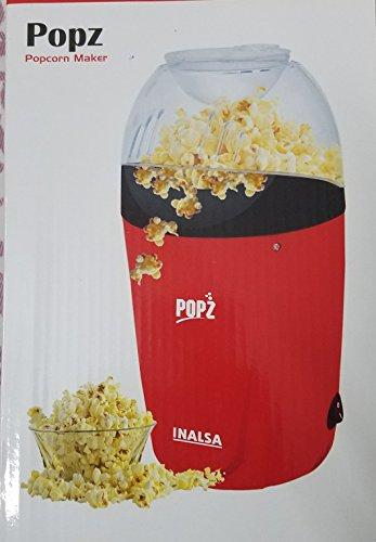 Inalsa Plastic 1200 W PopCorn Snack Maker (Red)