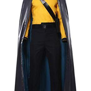 Linen Family Pelicula para Adultos Cosplay Lando Calrissian Costume Halloween Uniform Fancy Dress Suit