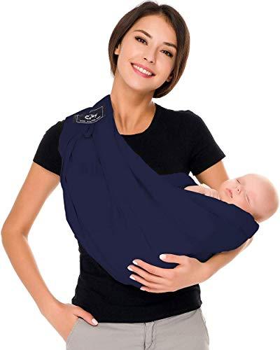 CUBY - Porte bébé Connection - Ergonomique de la naissance à 36 mois - Le porte-bébé sling à...