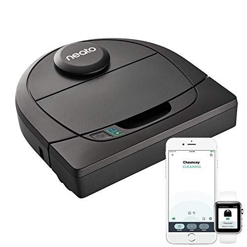 41etzrQ-OHL [Bon Plan Neato] Neato Robotics D402 Connected - Compatible avec Alexa - Robot aspirateur avec station de charge, Wi-Fi & App