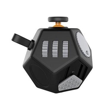 Maner Fidget Cube 2 Jouet amélioré 12 côtés Hand Dodécaèdre Jouets Chaque Jour Carry Fidgets Dispositifs Aider à soulager Le Stress et l'anxiété