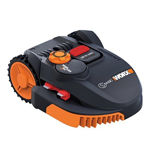 Worx wr091s Robot cortacésped Landroid, 36 W, 20 V, Negro, Naranja 300 m²