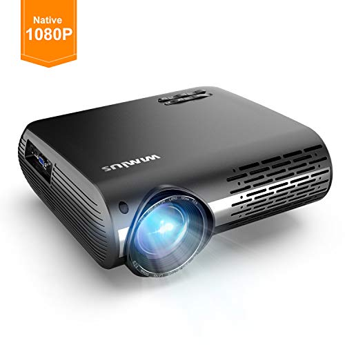 Videoproiettore,WiMiUS 4500 Lumen Nativa 1080P LED Proiettore Full HD Con 300'' Display Supporto 4K...