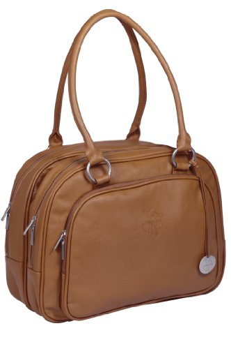 Wickeltasche Tender Multizip Bag, cognac
