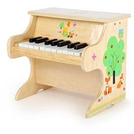 Small Foot- Pianoforte per Bambini in Legno con Applicazioni di Animali, 10724
