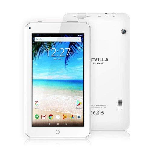 ECVILLA KMAX Tablet da 7' IPS Display, (Quad-Core, 16GB eMMC, Android 7.0) Bluetooth, WiFi