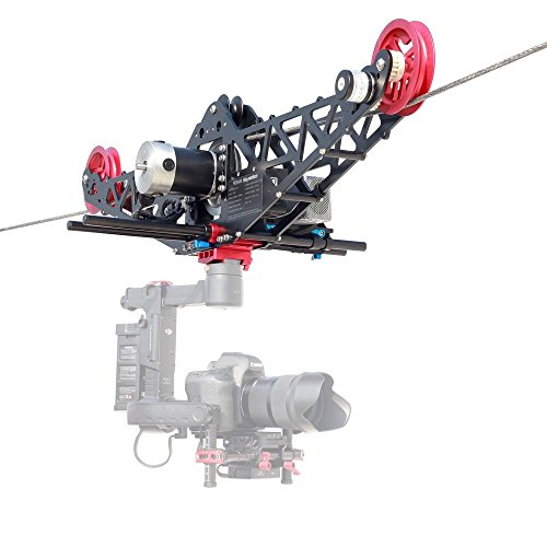 Proaim Sky-Walker Pro Cinema Cable Cam System Payload of 10kg/22lb | Designed for 3-Axis Gimbals, HD Video & Cinema Cameras| Fly Your Camera for Safe & Extra-Smooth Shots(P-SWCC-10)