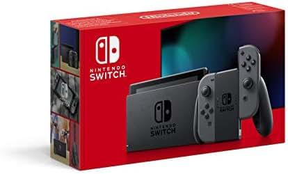 Nintendo Switch Konsole - Grau (neue Edition)