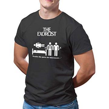 DibuNaif Camiseta Hombre - Unisex película El Exorcista, William Friedkin 5