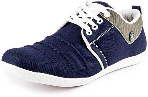 Shoes T99 mens blue sneakers (6)