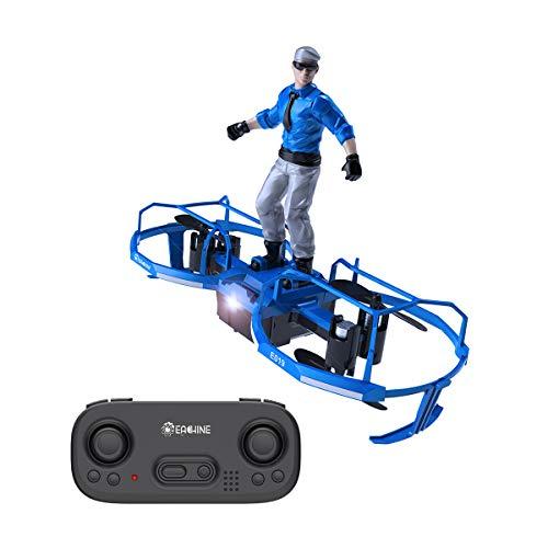 EACHINE E019 Mini Drone, 2-Assi Drone per Bambini Elicottero Rotolamento 3D Paracadute Aliante...
