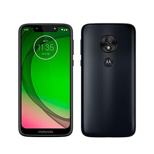 Motorola Moto G7 Play - Smartphone Android 9 (pantalla 5.7'' HD+ Max Vision, cámaras trasera 13MP, cámara selfie 8MP, 2GB de RAM, 32 GB, Dual SIM), color azul índigo [Versión española]