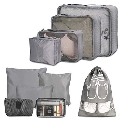 Packing Cube, Wokkol Set Viaggio Organizer da Viaggio Organizer Viaggio Set Viaggio Organizer...
