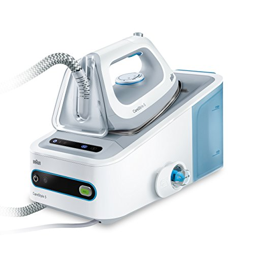 Braun IS5022WH CareStyle 5 Ferro da Stiro a Caldaia, 2400 W, Bianco/Blu