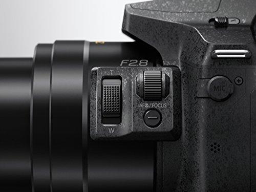 """Panasonic DMC-FZ300EG-K - Cámara Bridge de 12.8 Mp (pantalla táctil de 3"""", zoom óptico 24x, estabilizador óptico, grabación de vídeo 4K), negro"""