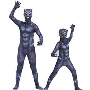 Ropa de pantera negra Marvel Heroes Avengers Adulto Cosplay Pantera Flaco Mono Disfraz de Halloween Niño adulto