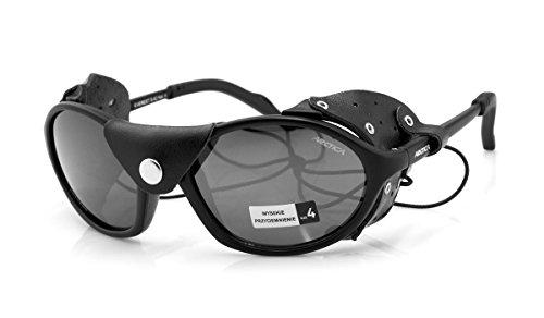 Gafas de sol polarizadas Escalada Montañismo S-42P * Everest* Protección contra viento y cuero escudos sol
