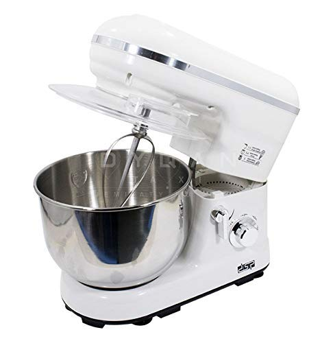 KT Traders DSP 3in1, 1200 Watt, 5 L Stand Mixer (White)