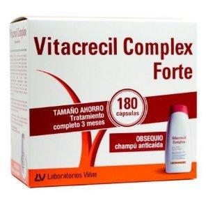 Vitacrecil anticaída 180 cápsulas + GRATIS champú 200 ml
