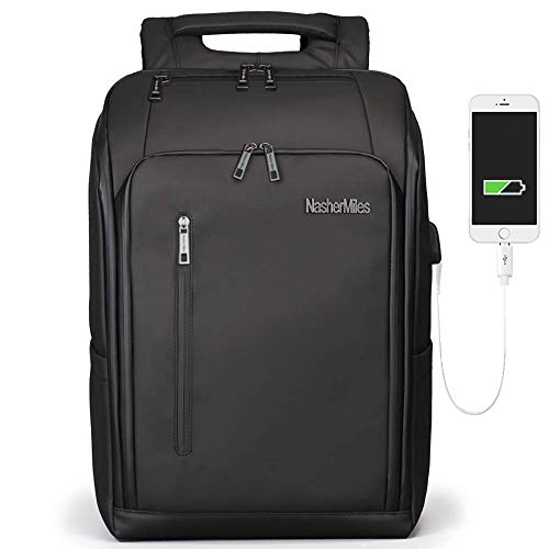 Nasher Miles Provo Black Laptop Backpack 34 L