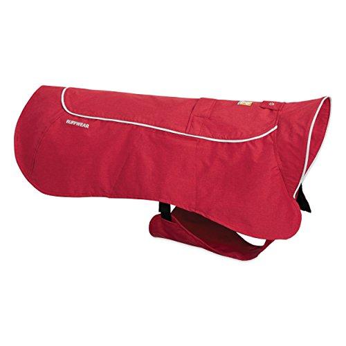 Ruffwear Aira Waterproof Rain Jacket- Accesorios para perros, Rojo (Red rock), L