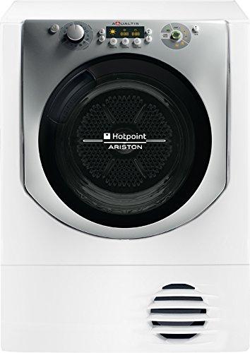 Hotpoint AQC9 2F7 TM2 1 (EU) Autonome Charge avant 9kg A++ Blanc sèche-linge - Sèche-linge (Autonome, Charge avant, Condensation, Blanc, boutons, Rotatif, Droite)