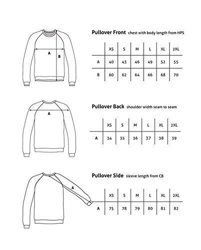 100% Kaschmir Damen Kapuzenpullover | Hoodie mit Reißverschluss (Beige / Washed Ecru, XL) - 6