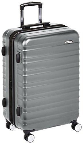 AmazonBasics - Trolley rigido Premium con rotelle pivotanti e lucchetto TSA integrato - 68 cm,...