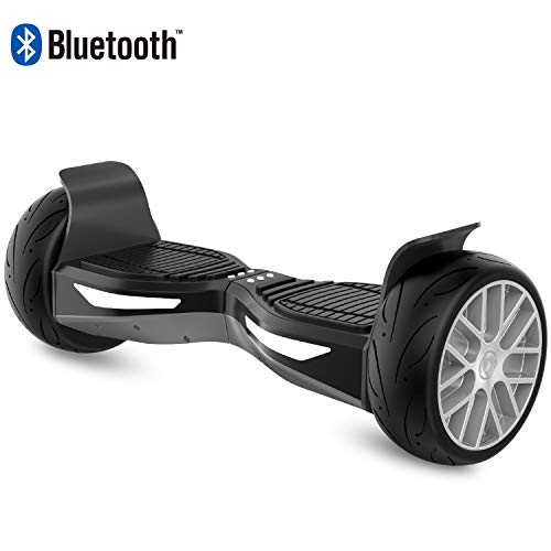 RCB Hoverboard scooter elettrico fuori-strada 8,5 pollici Hoverboard HUMMER 4x4 Bluetooth + App...