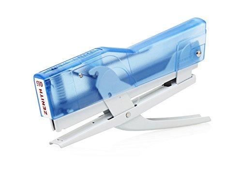 ZENITH 590 FUN cucitrice a pinza colore Blu trasparente