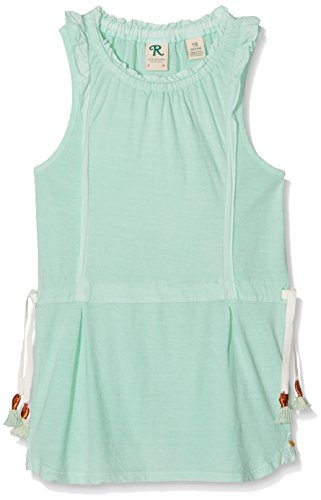 Scotch R'Belle Mädchen Kleid Garment Dye Jersey Dress Wt Woven Ruffle