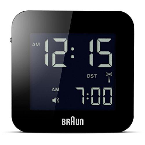 Braun BNC008BK-RC - Orologio digitale da viaggio, colore: nero