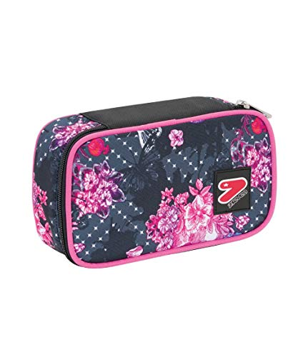 ASTUCCIO Scuola - SEVEN THE DOUBLE - QUEEN CROWN - QUICK CASE - Rosa Fantasia