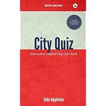 City Quiz: Interactive Capital City Quiz Book