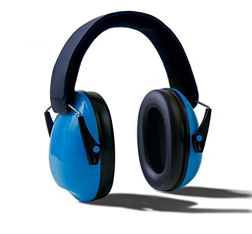 HMILYDYK niños seguridad protectores de oído orejeras cancelación de ruido plegable Disparo orejeras auriculares con diadema ajustable para trabajo, tiro, caza, ideal para bebés niños niños