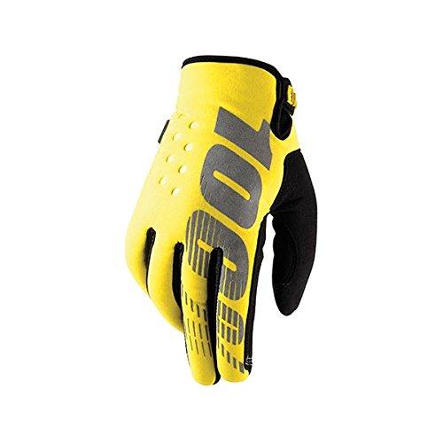 Sconosciuto guanti brisker 100% neon yellow (xl)