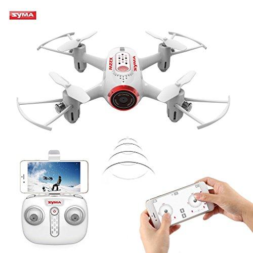 Syma X22W mini drone con camera Live video 2.4GHz 4CH assi WiFi FPV RC Quadcopter con App...