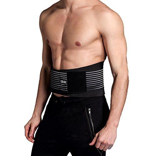 Supporto Lombare per la schiena e cintura di supporto by Cotill- 8 stecche rigide per un sollievo...