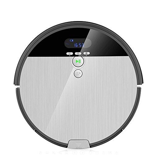 ILIFE V8s Aspirapolvere Robot, 2 in 1 Robot Aspirapolvere e Lavapavimenti, Schermo LCD e Funzione di...