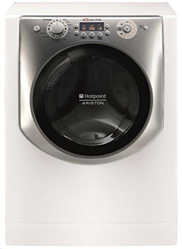 Hotpoint AQ86F 29 IT Libera installazione Caricamento frontale 8kg 1200Giri/min A+++ Argento, Bianco...