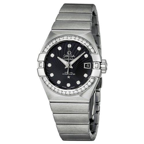 OMEGA 123.15.27.20.51.001–Armbanduhr Damen, Armband in Edelstahl