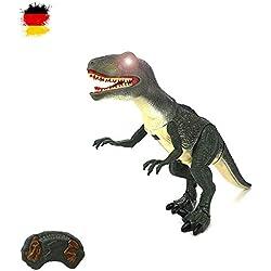 HSP Himoto Gigante Grande brigamo–Dinosaurios T-Rex, Aprox. 50cm Grande, gehfunktion, de Sonido y Efectos de luz con Control Remoto