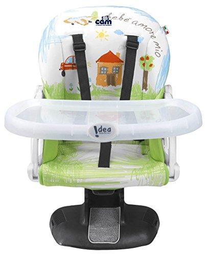 CAM Il mondo del bambino S334/222 Rialzo da Sedia Idea, Verde