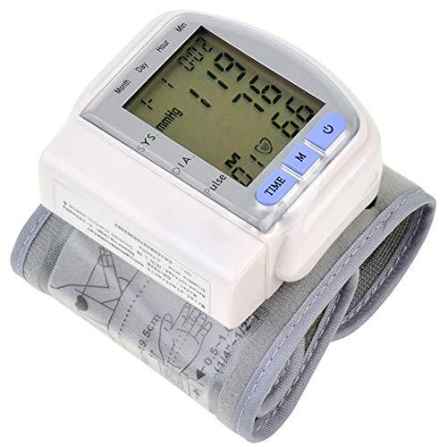 xycdy Misuratore Automatico della Pressione Sanguigna da Polso da Casa, Misuratore Elettronico della...
