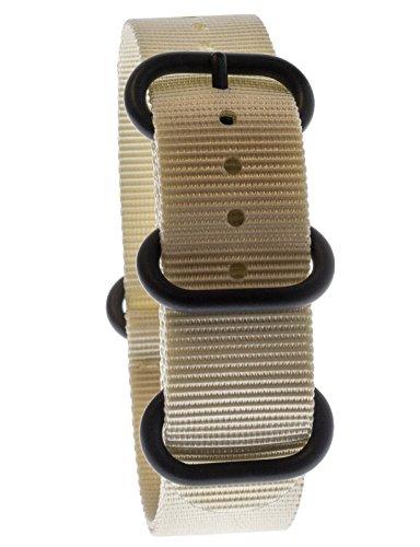 Yves Camani Uni sson 20mm orologi braccialetto di nylon Nato della band NEU AB 196