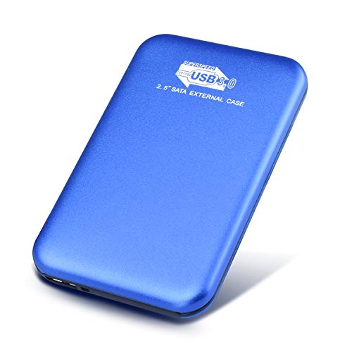 Prode Hard Disk 2 TB Esterno Portatile 2,5' USB3.0 SATA HDD Storage per PC, Mac, Desktop, Laptop,...
