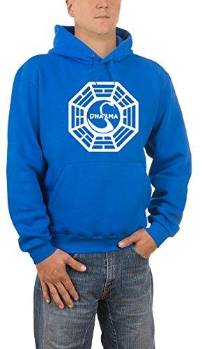diseño de calidad 7a8c5 f3434 Touchlines Lost Dharma Bleu - Sudadera con capucha - MUNDO ...