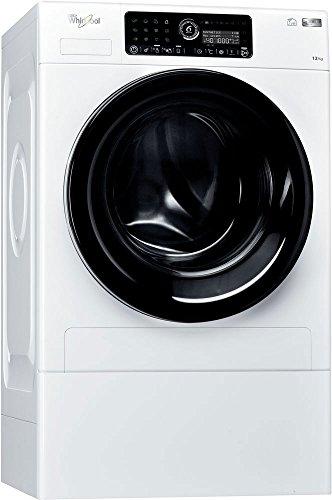 Whirlpool FSCR 12443 Libera installazione Carica frontale 12kg 1400Giri/min A+++-60% Bianco...